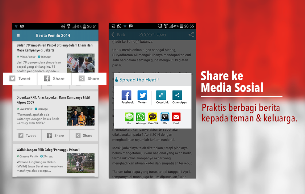 SCOOP News:Kabar Pemilu 2014 - screenshot