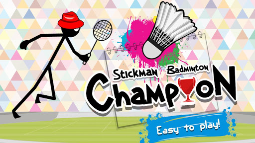 Stickman Badminton Champion