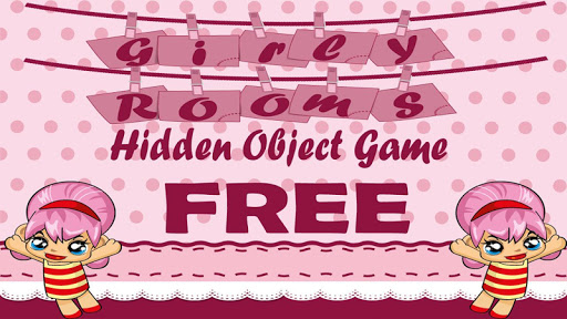 Girl Rooms Hidden Object Game