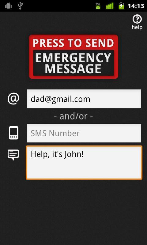 Emergency Button- screenshot