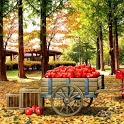 Autumn Leaves 3D Free LWP icon