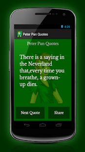 Peter Pan Quotes - screenshot thumbnail