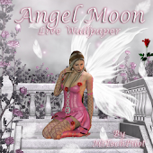Angel Moon Live Wallpaper