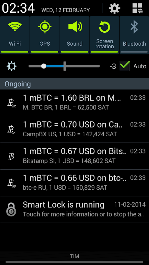 Bitcoin Paranoid - screenshot
