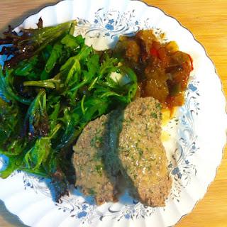 Turkey Meatloaf ( Gluten free).