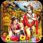 Radha krishna 3D wallpaper