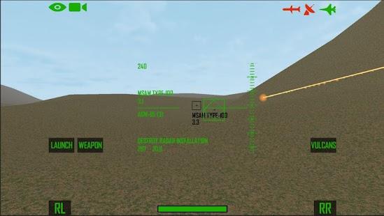 Flight sim A-10 Thunderbolt