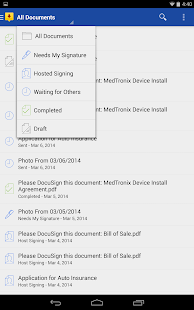 DocuSign - Sign & Send Docs - screenshot thumbnail