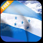 3D bandera de Honduras