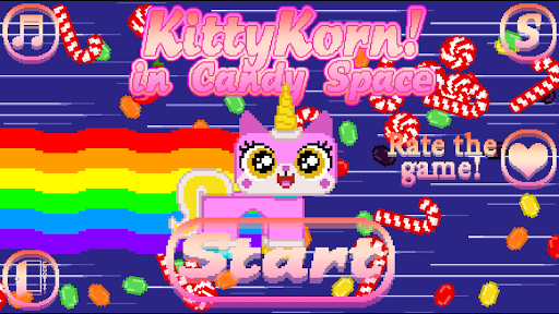 Kitty Korn in Candy Space