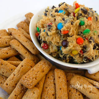 Monster Cookie Dough Dip.