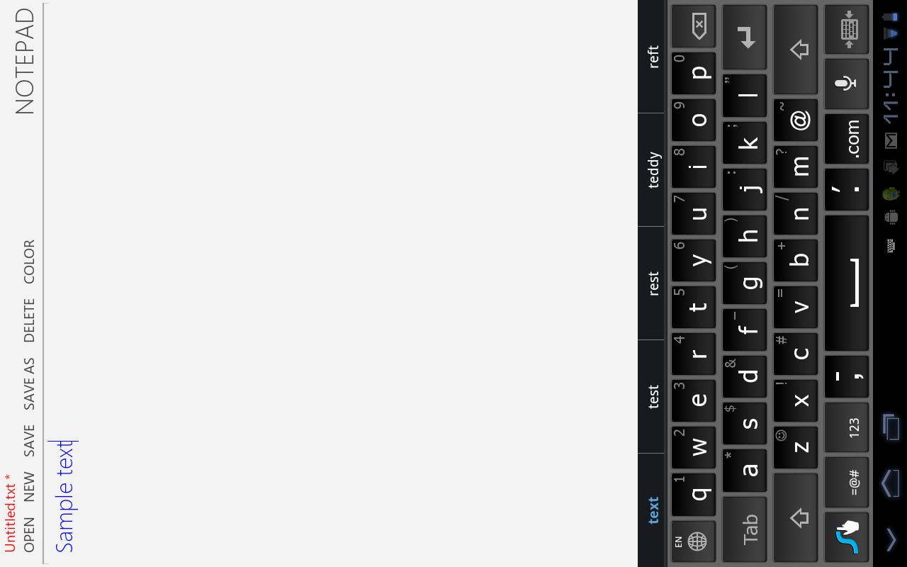 Notepad 8 | Tablets - screenshot