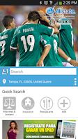 Screenshot of Listas Locales Local Search