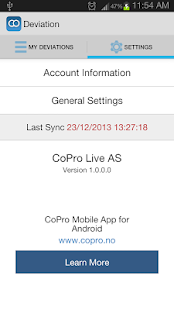 CoPro Deviation for SP2010- screenshot thumbnail