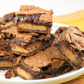 Peanut Butter Cup Brownies.