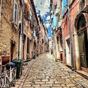 Alleyway by Siniša Biljan - City,  Street & Park  Street Scenes (  )