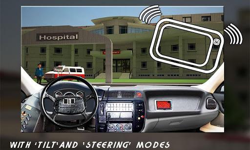 救护车司机的3D模拟器