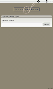 Signature Bank Mobile Banking - screenshot thumbnail