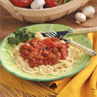 Southern Barbecue Spaghetti Sauce Recipe.