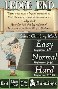 Ledge End - Endless Jumper