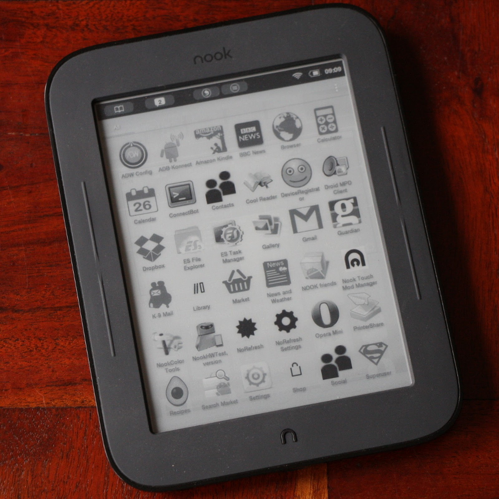 Kindle Vs Sony Reader: Nook Simple Touch Vs Kindle En Análisis Y Online En