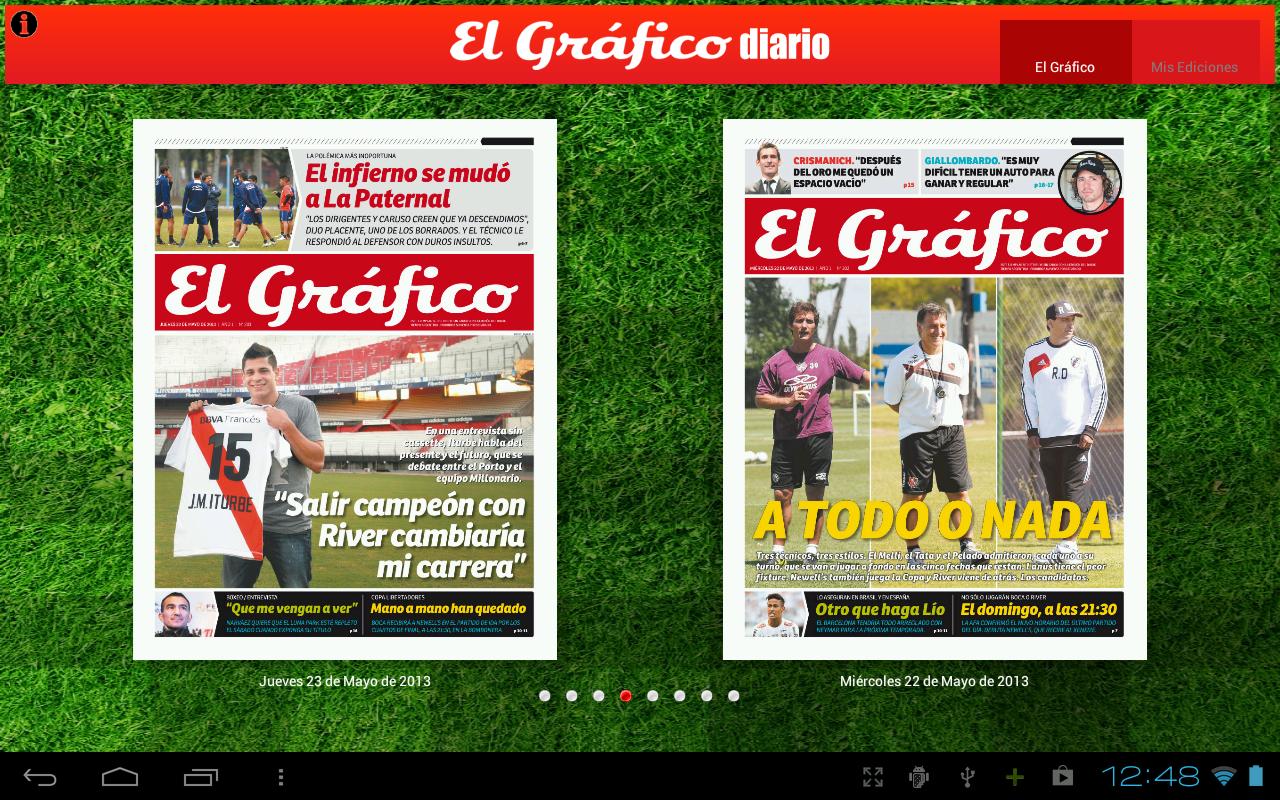 El Grafico Diario - screenshot