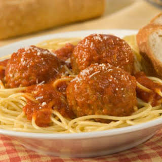 Mama's Best Ever Spaghetti & Meatballs (8 Servings).