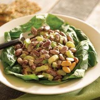 Creamy Peanut Butter Bean Salad