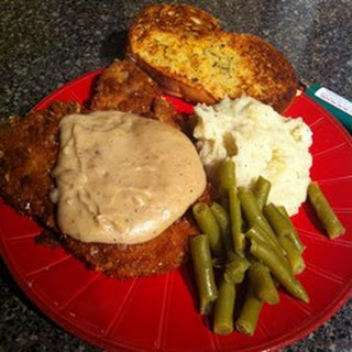 Becca's Chicken-Fried Pork Chops