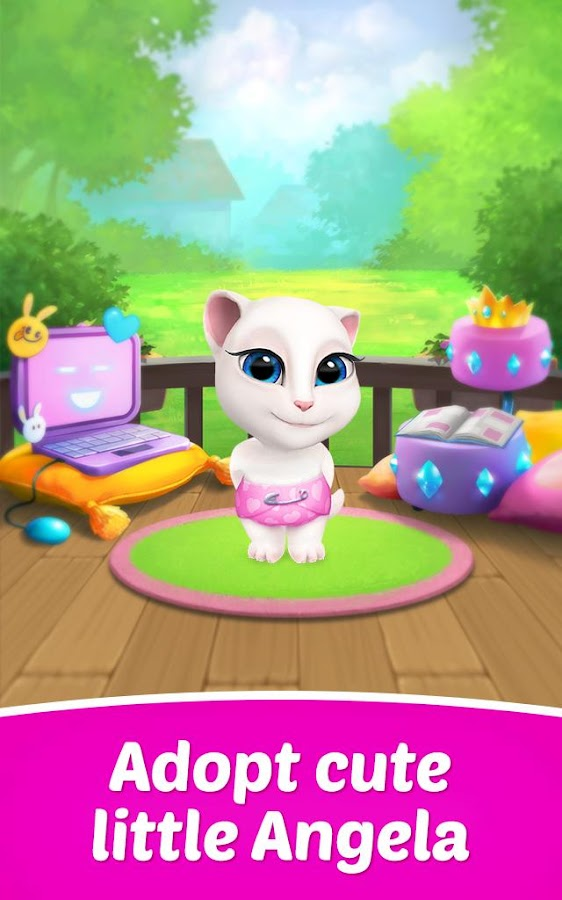 My Talking Ange... Mlp App Games To Download For Free