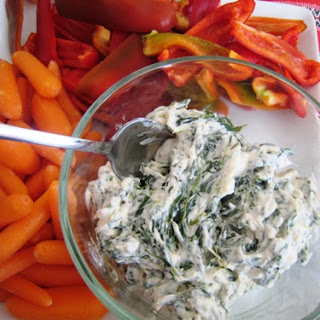 Healthier Spinach Dip