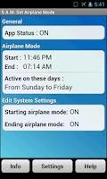 Screenshot of S.A.M. Set Airplane Mode