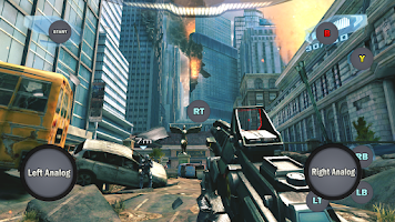 Screenshot of Game Controller 2 Touch