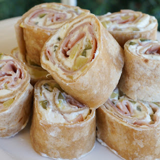 Ham and Pickle Roll-Ups.