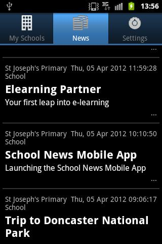 School Updates- screenshot