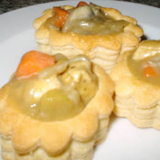 Chicken and Asparagus Vol-au-vent