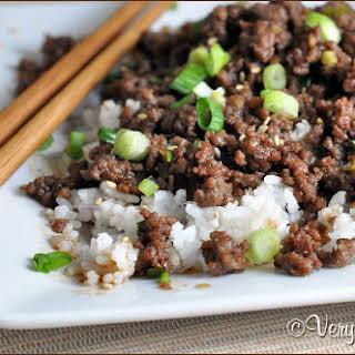 Cheater Korean Beef.