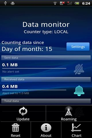 Data Monitor- screenshot