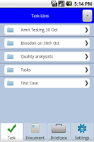 Screenshot of Aderium Companion for Zimbra