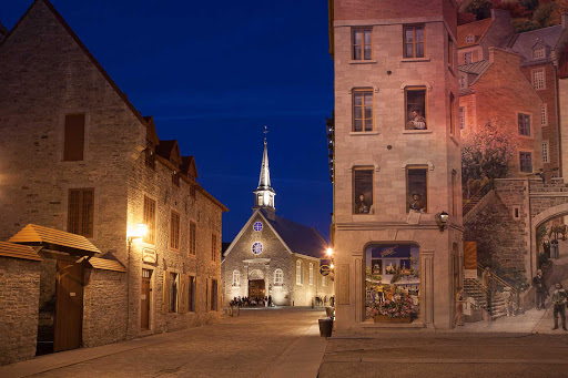 Place Royale in Quebec City's Old Port exudes an Old World charm.  Locals consider it the spiritual and historical heart of Vieux Quebec as the birthplace of French civilization in North America.