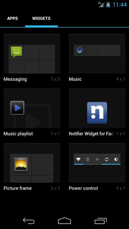 Notifier Widget for Facebook - screenshot