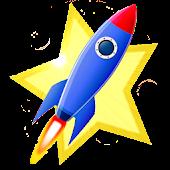 Kids Space Rocket Journey