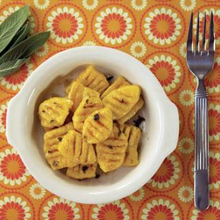 Pumpkin Gnocchi With Sage Butter
