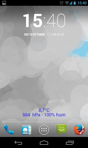 玩個人化App|Meteo Flat Live免費|APP試玩