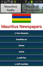 【免費音樂App】Mauritius Radio and Newspaper-APP點子
