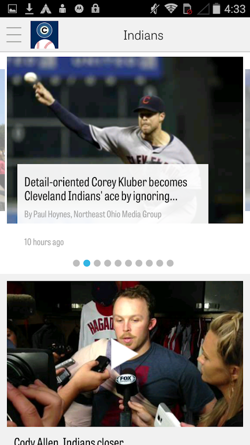 cleveland.com: Indians News- screenshot