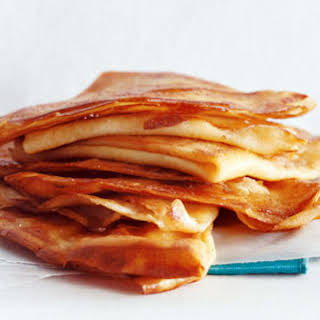 Butter-Sugar Crepes.