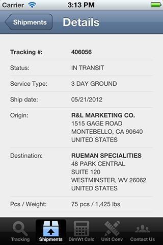 BC Logistics, LLC - screenshot