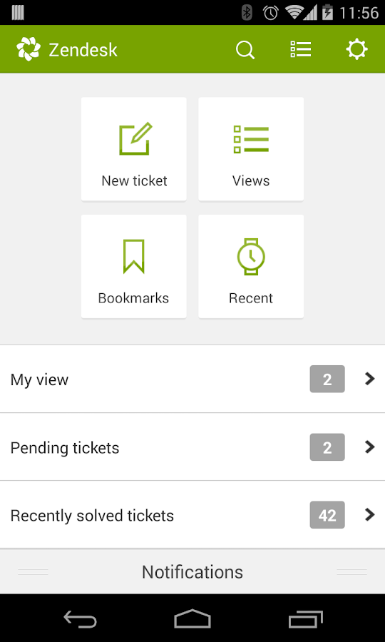 Zendesk - screenshot