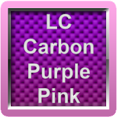 LC Carbon Purple Pink Theme